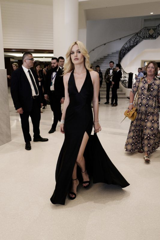 CANNES, FRANCE - MAY 08:  Georgia May Jagger departs the Martinez Hotel during the 71st annual Cannes Film Festival at  on May 8, 2018 in Cannes, France.  (Photo by Gareth Cattermole/Getty Images)
