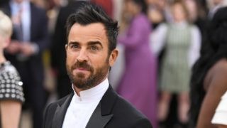 NEW YORK, NY - MAY 07:  Actor Justin Theroux attends the Heavenly Bodies: Fashion & The Catholic Imagination Costume Institute Gala at The Metropolitan Museum of Art on May 7, 2018 in New York City.  (Photo by Noam Galai/Getty Images for New York Magazine)