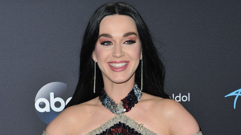 """LOS ANGELES, CA - MAY 13:  Singer/judge Katy Perry arrives at ABC's """"American Idol"""" show on May 13, 2018 in Los Angeles, California.  (Photo by Allen Berezovsky/Getty Images)"""