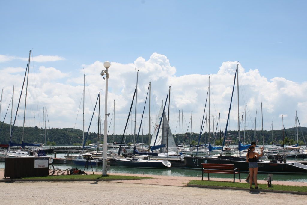 A balatonfüredi kikötő