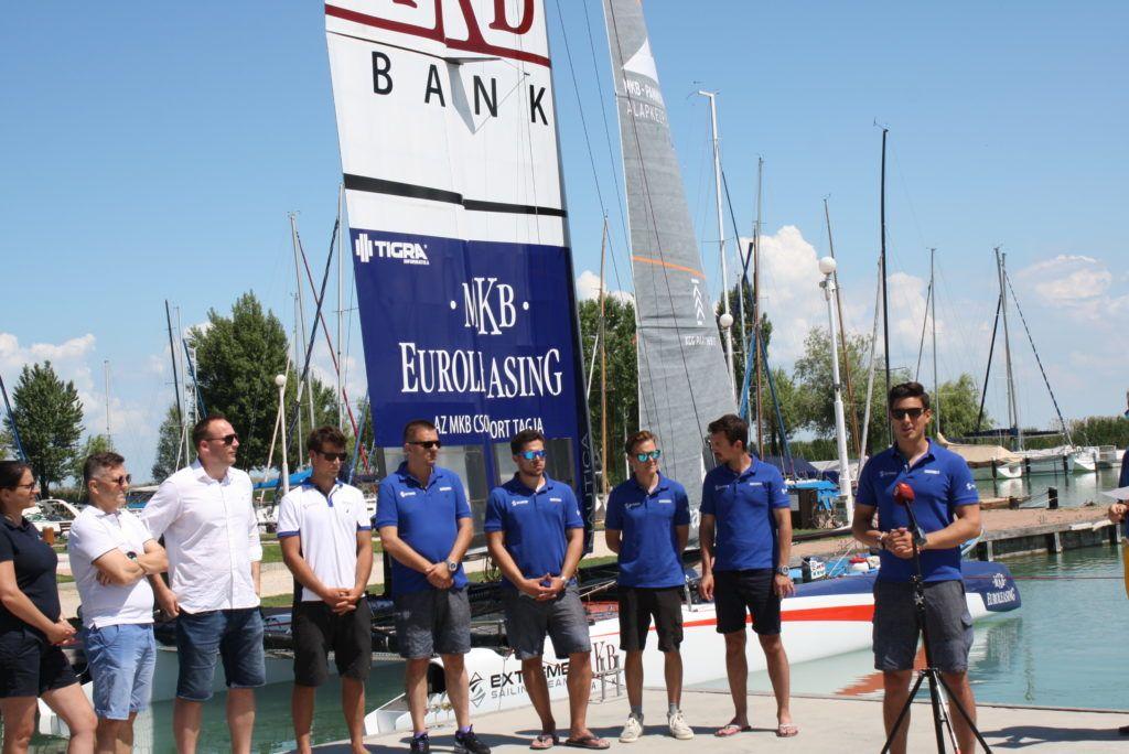 Az MKB Exteme Sailing csapat