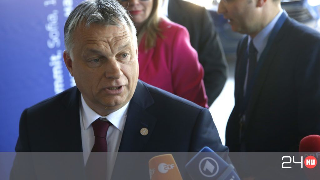 Orbán landolt Szófiában