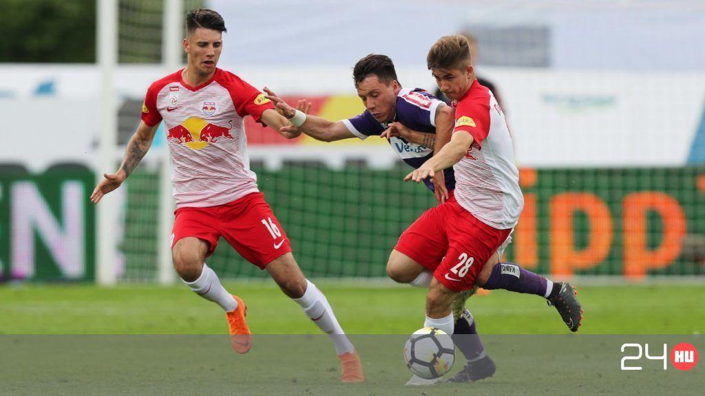 Szoboszlai Dominik bemutatkozott a Salzburgban | 24.hu