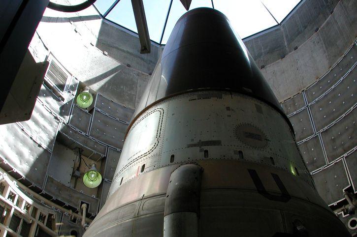 Titan missle warhead