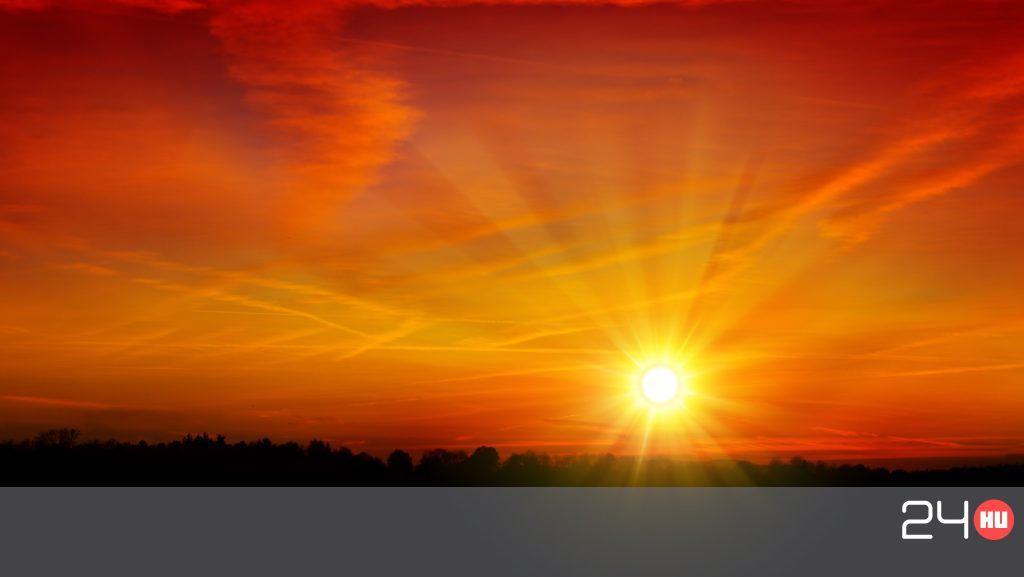 Miért narancssárga a naplemente?