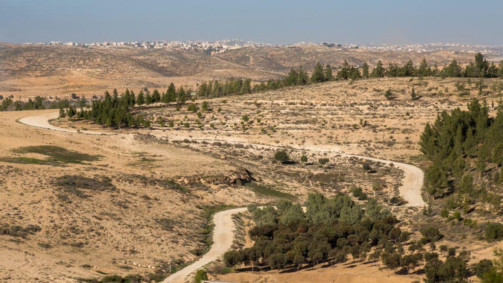Metar, a comunity village northen Ber-Sheva, Israel