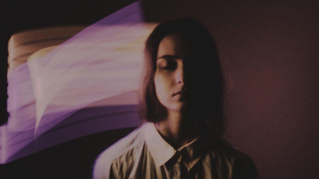 Schizophrenia disease concept. LSD feeling abstraction.