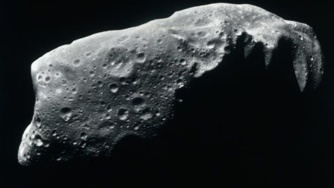 Image of an asteroid.