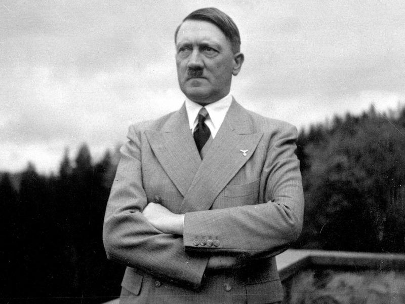 Nazi Germany. Adolf Hitler (1889-1945), German statesman, at the Berghof. Berchtesgaden (Germany), 1939. From Eva Braun's album.