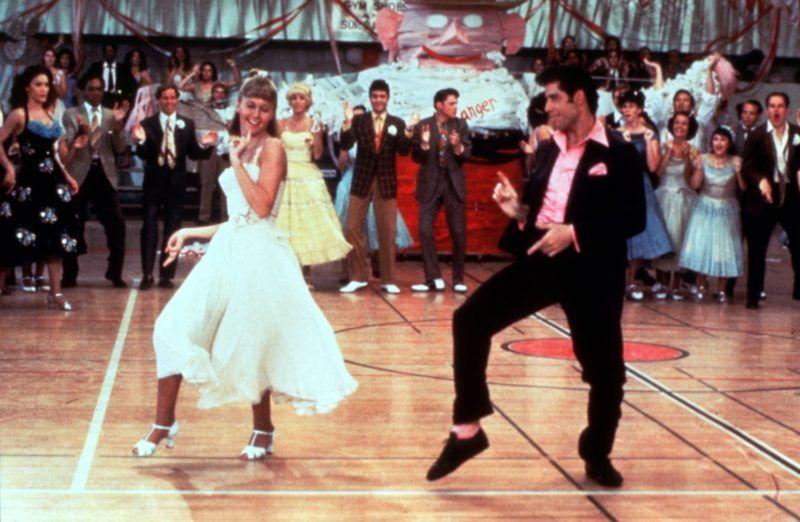 Grease 1978 Randal Kleiser John Travolta Olivia Newton-John