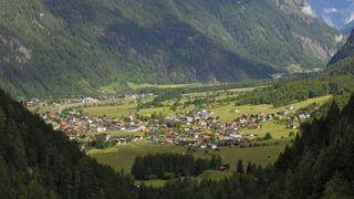 Umhausen, Otztal valley, Tyrol, Austria, Europe
