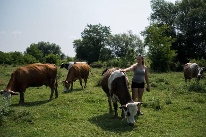 Fiatal lányok akik mezőgazdasággal akarnak foglalkozni