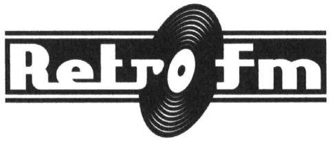 A Retro FM ábrás védjegye