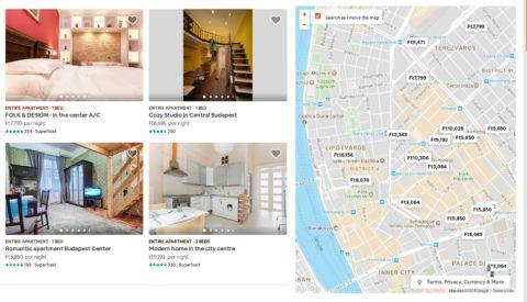 Az Airbnb megtévesztően tüntette fel az árakat
