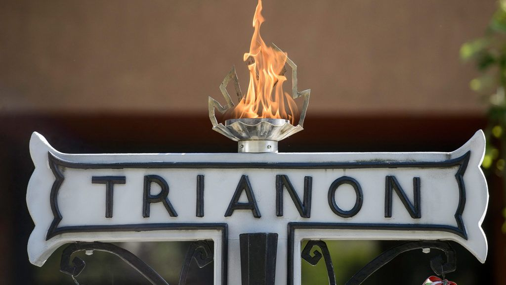 Szécsény, 2015. június 6.Trianon-emlékmű a Nógrád megyei Szécsényben 2015. június 6-án, a Jobbik trianoni megemlékezésén.MTI Fotó: Komka Péter