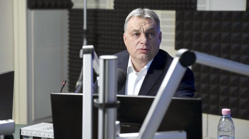 Budapest, 2018. január 19. Orbán Viktor miniszterelnök interjút ad a 180 perc címû mûsorban a Kossuth Rádió stúdiójában 2018. január 19-én. MTI Fotó: Koszticsák Szilárd