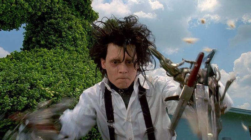 Edward aux mains d Argent Edward scissorhands 1991 Real  Tim Burton Johnny Depp. Collection Christophel © Twentieth Century Fox Film Corporation