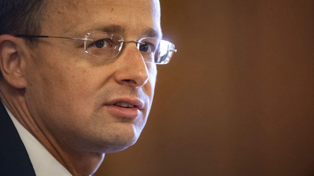 Budapest, 2018. május 15.Szijjártó Péter külgazdasági és külügyminiszter-jelölt a kinevezés előtti meghallgatásán az Országgyűlés gazdasági bizottságának ülésén az Országházban 2018. május 15-én.MTI Fotó: Szigetváry Zsolt