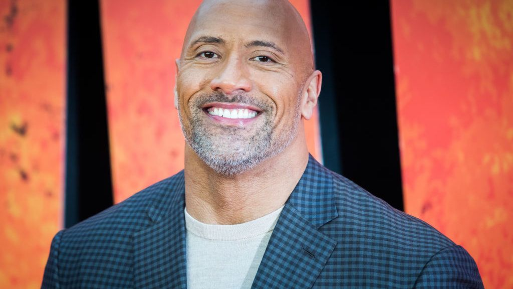 LONDON, ENGLAND - APRIL 11:  Dwayne Johnson attends the European Premiere of 'Rampage' at Cineworld Leicester Square on April 11, 2018 in London, England.  (Photo by Samir Hussein/Samir Hussein/WireImage)