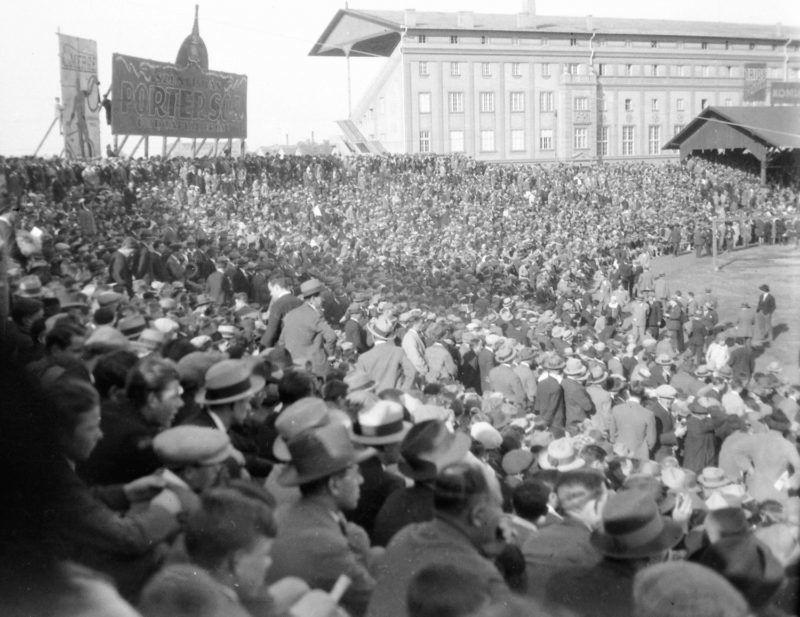 MTK stadion. 1929 Fotó: Fortepan