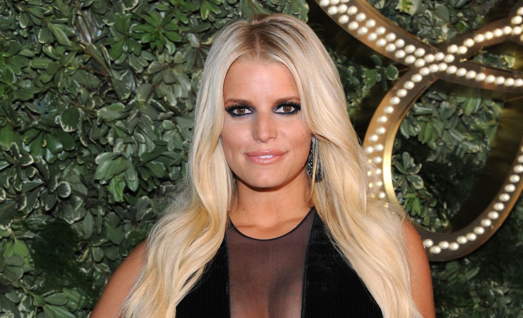 NEW YORK, NY - SEPTEMBER 09:  Jessica Simpson attends Jessica Simpson Collection Presentation Spring 2016 New York Fashion Week on September 9, 2015 in New York City.  (Photo by Desiree Navarro/WireImage)