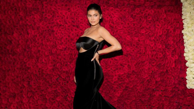 NEW YORK, NY - MAY 07: Kylie Jenner attends the Heavenly Bodies: Fashion & The Catholic Imagination Costume Institute Gala at The Metropolitan Museum of Art on May 7, 2018 in New York City. (Photo by Kevin Tachman/Getty Images for Vogue)