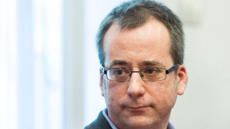 Horváth Gergely, a Petőfi Rádió műsorvezetőjeként 2015. március 9-én. MTI Fotó: Mohai Balázs