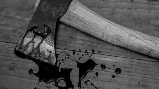 Bloody axe/hatchet
