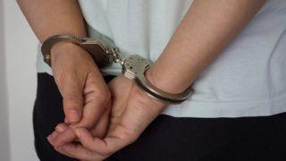 Arrested for killing her husband