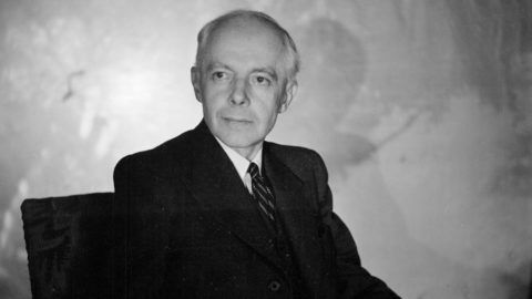 Béla Bartók (1881-1945), compositeur hongrois. France, mars 1939.     LIP-2019-003
