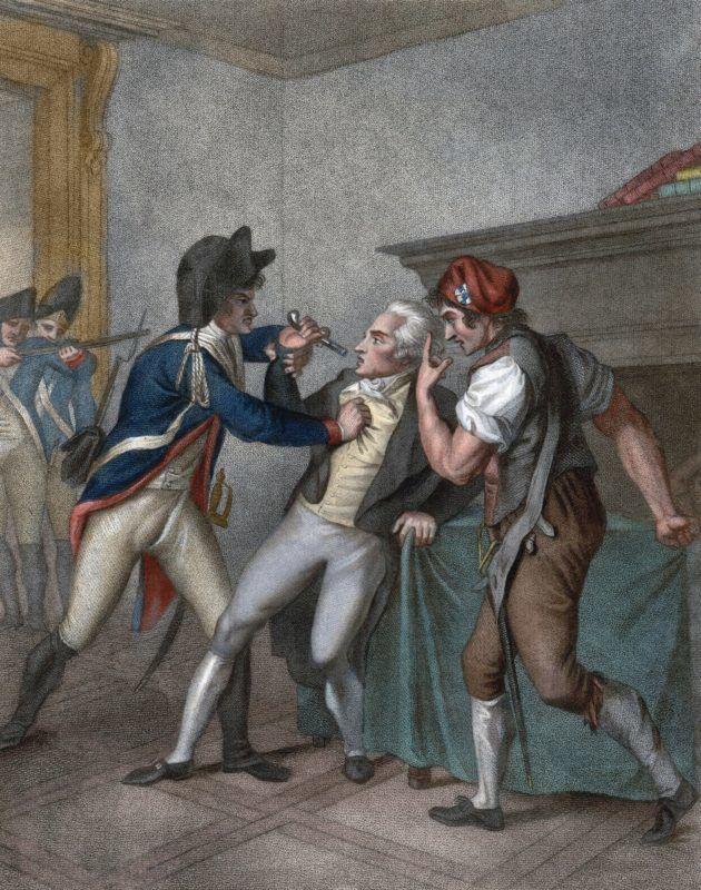 Arrestation de Maximilien Robespierre, le 27/07/1794 - The Apprehension of Robespierre - Robespierre's arrest ©Bianchetti/Leemage