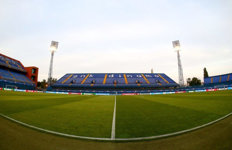 A general view of the Stadion Maksimir before the UEFA Champions League Group F football match between GSK Dinamo Zagreb and Arsenal on September 16, 2015 at The Stadion Maksimir in Zagreb, Croatia. Photo Kieran McManus / Backpage Images / DPPI