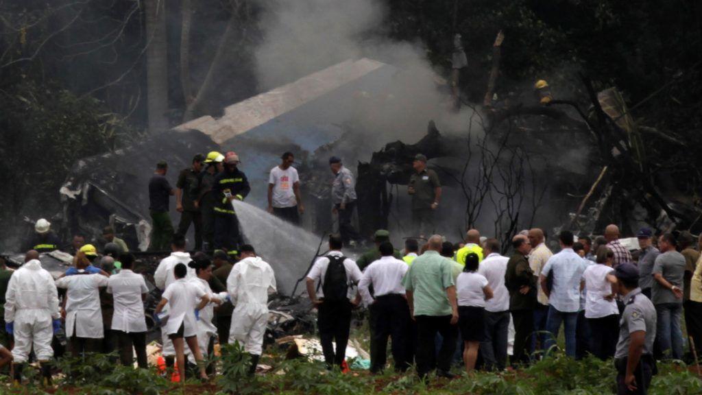 Emberi hiba okozta a kubai repülőszerencsétlenséget