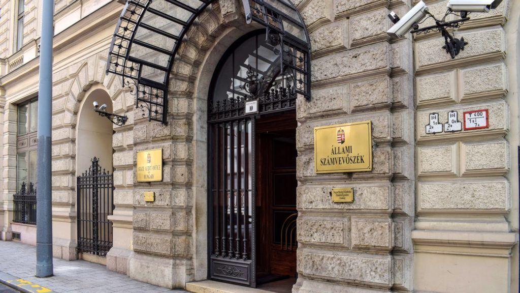 Városkép - Budapest - Állami Számvevőszék épülete