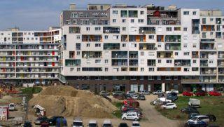 Budapest, 2018. április 11. A City Home lakópark a fõváros IX. kerületében a Vágóhíd, a Mester és a Máriássy utcák által határolt területen. Az oda épült és épülõ, összesen mintegy 1600 modern társasházi lakás egy részébe már beköltöztek a lakók. MTVA/Bizományosi: Jászai Csaba  *************************** Kedves Felhasználó! Ez a fotó nem a Duna Médiaszolgáltató Zrt./MTI által készített és kiadott fényképfelvétel, így harmadik személy által támasztott bárminemû – különösen szerzõi jogi, szomszédos jogi és személyiségi jogi – igényért a fotó készítõje közvetlenül maga áll helyt, az MTVA felelõssége e körben kizárt.