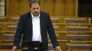 Budapest, 2015. április 29. Pócs János, a Fidesz képviselõje felszólal az anyakönyvi eljárásról szóló törvény és a közfoglalkoztatással összefüggõ egyes törvények módosításáról szóló vitában az Országgyûlés plenáris ülésén 2015. április 29-én. MTI Fotó: Bruzák Noémi