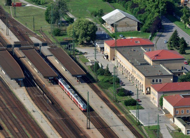 Hatvan, 2010. július 29. A hatvani vasúti pályaudvar. MTI Fotó: H. Szabó Sándor