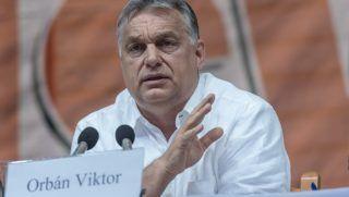 Tusnádfürdő, 2018. július 28.Orbán Viktor miniszterelnök előadást tart a 29. Bálványosi Nyári Szabadegyetem és Diáktáborban (Tusványos) az erdélyi Tusnádfürdőn 2018. július 28-án.MTI Fotó: Veres Nándor