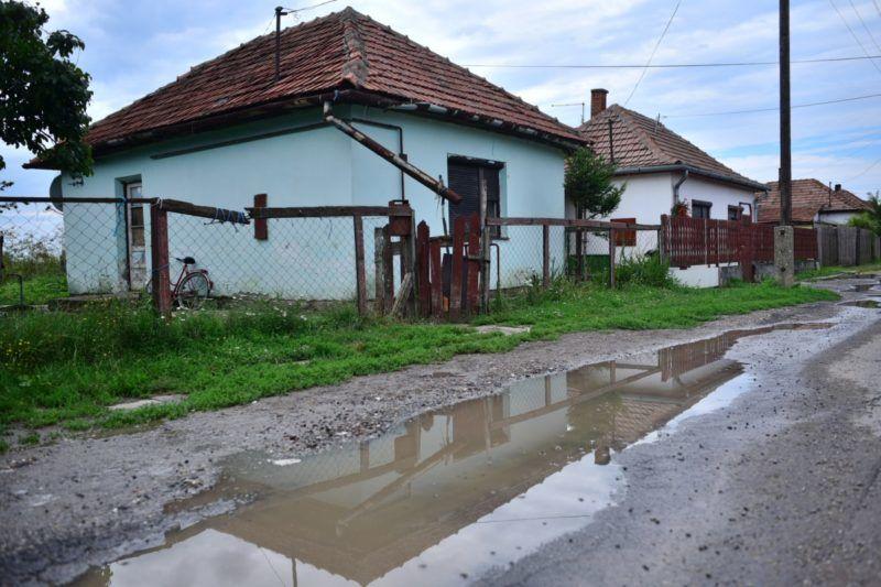 1. A ház ami előtt megvertékFotó: Fülöp Dániel Mátyás / 24.hu