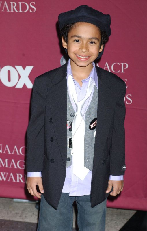 Noah Gray-Cabey during The 36th Annual NAACP Image Awards - Arrivals at Dorothy Chandler Pavilion in Los Angeles, California, United States. (Photo by Albert L. Ortega/WireImage)