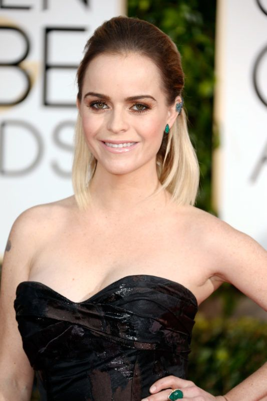 BEVERLY HILLS, CA - JANUARY 11:  Actress Taryn Manning attends the 72nd Annual Golden Globe Awards at The Beverly Hilton Hotel on January 11, 2015 in Beverly Hills, California.  (Photo by Jeff Vespa/WireImage)