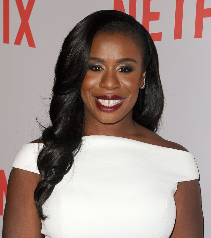 """LOS ANGELES, CA - MAY 20:  Actress Uzo Aduba attends Netflix's """"Orange Is The New Black"""" For Your Consideration screening and Q&A at Directors Guild Of America on May 20, 2015 in Los Angeles, California.  (Photo by Jason LaVeris/FilmMagic)"""