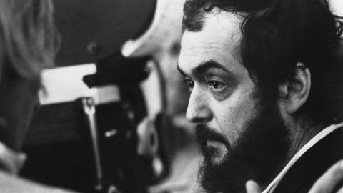 Stanley Kubrick on the set of A Clockwork Orange. The 1971 film tells the story of a violent gang member who goes through aversion therapy. (Photo by  John Springer Collection/CORBIS/Corbis via Getty Images)
