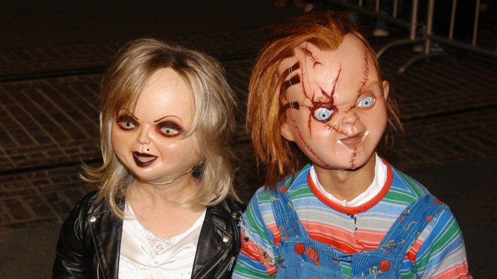 Tiffany and Chucky (Photo by Rebecca Sapp/WireImage)