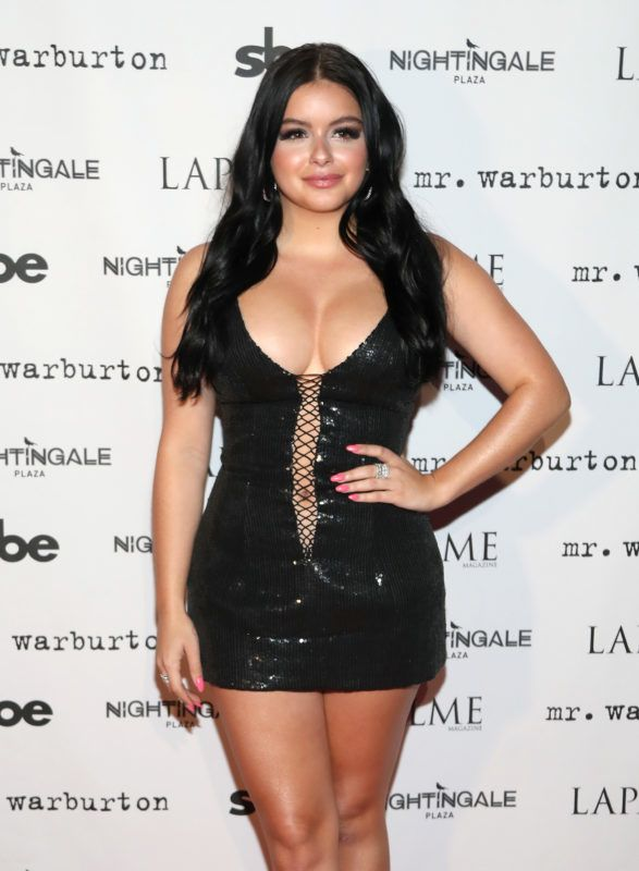 LOS ANGELES, CA - NOVEMBER 08:  Actress Ariel Winter attends LaPalme Magazine fall cover party at Nightingale Plaza on November 8, 2017 in Los Angeles, California.  (Photo by Jerritt Clark/Getty Images)