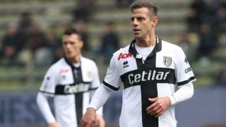 during the serie B match between Parma Calcio and Foggia at Stadio Ennio Tardini on March 25, 2018 in Parma, Italy.