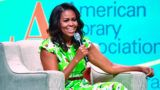 NEW ORLEANS, LA - JUNE 21: Former First Lady of the United States Michelle Obama speaks during the Opening General Session of the 2018 American Library Association Annual Conference at Ernest N. Morial Convention Center on June 21, 2018 in New Orleans, Louisiana. (Photo by Erika Goldring/WireImage)