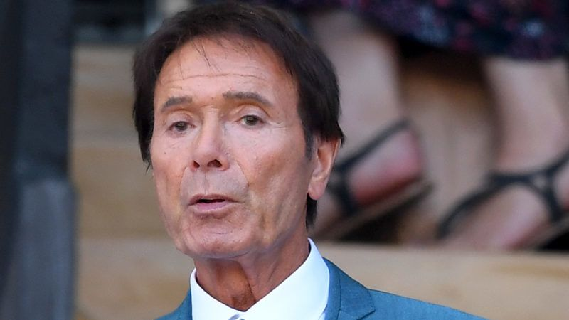 LONDON, ENGLAND - JULY 02:  Sir Cliff Richard attends day one of the Wimbledon Tennis Championships at the All England Lawn Tennis and Croquet Club on July 2, 2018 in London, England.  (Photo by Karwai Tang/Karwai Tang/WireImage )