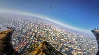 """Mit dem YouTube-Video """"Vienna from an eagle's eye view"""" zeigt der WienTourismus seine Stadt aus der Vogelperspektive."""