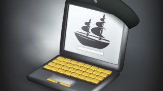 Pirate, Criminal, Laptop, Hat, Ship